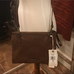 Lucky brand leather crossbody
